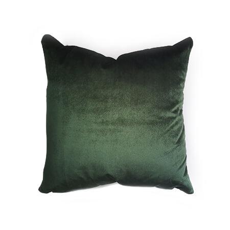 cojin velvet verde