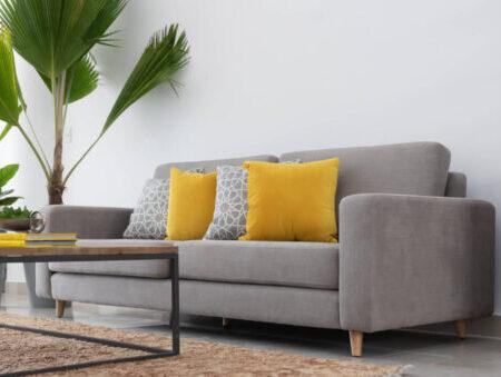 sofa gris valencia